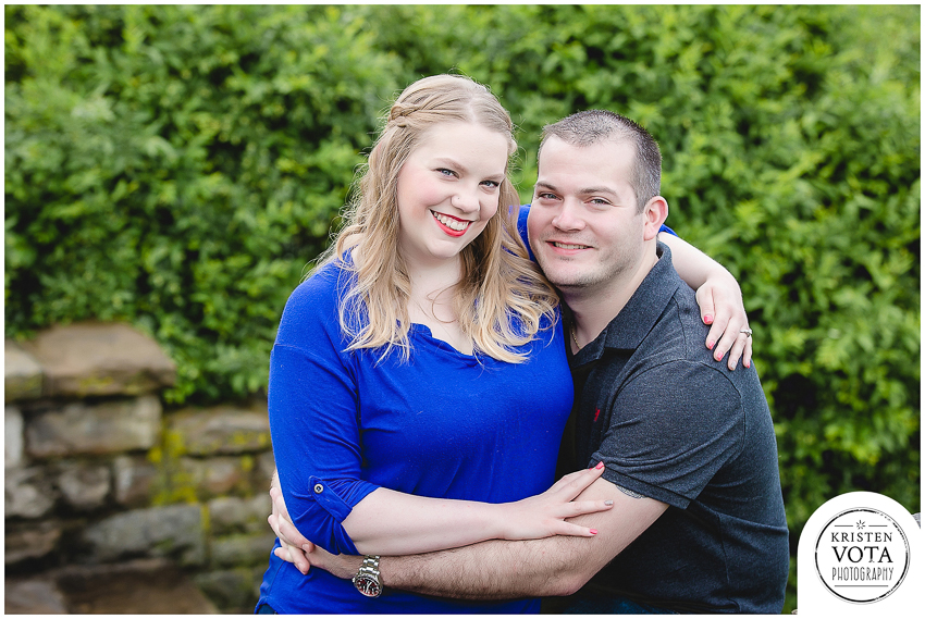 Pittsburgh engagement session in Grandview Park on Mt. Washington