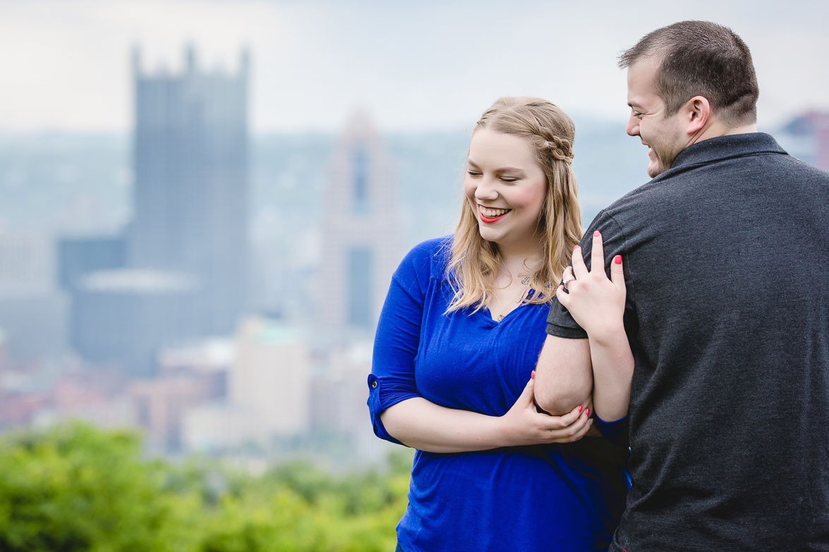 Pittsburgh Engagement Session | Emily & Nick