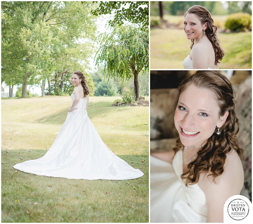 St. Bernard Church Wedding | Andrea & Nate - Kristen Vota Photography
