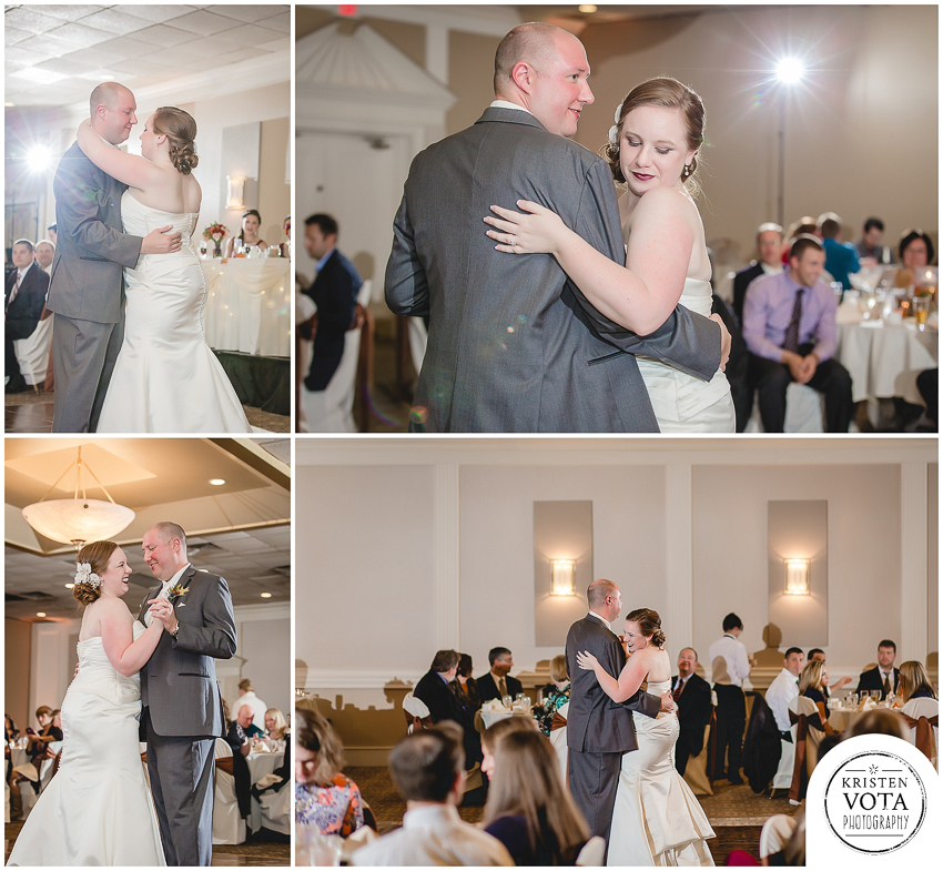 Fall Wedding at The Chadwick | Keely & Mark - Kristen Vota Photography