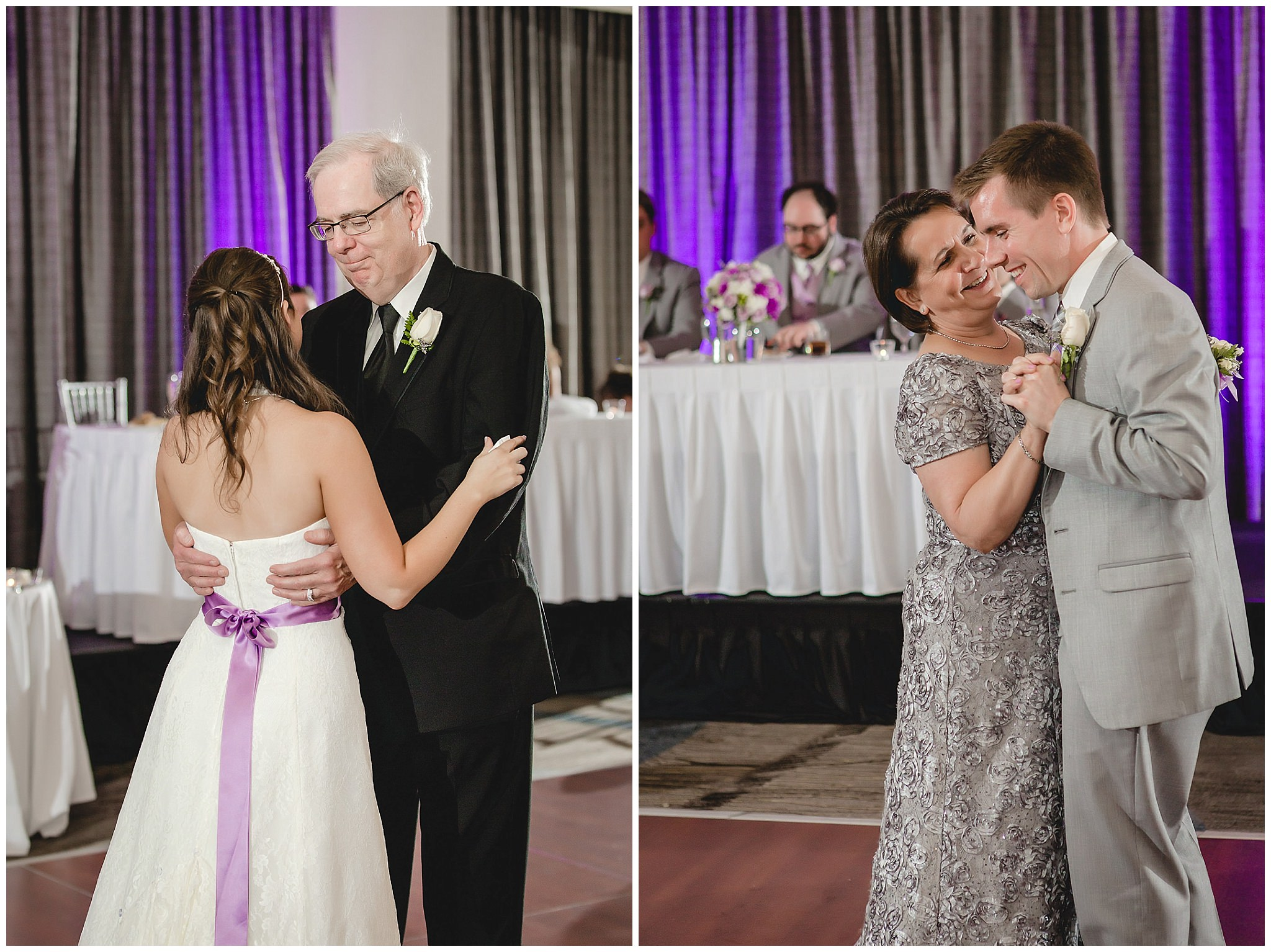 Father-daughter and mother-son dances at the Pittsburgh Airport Marriott