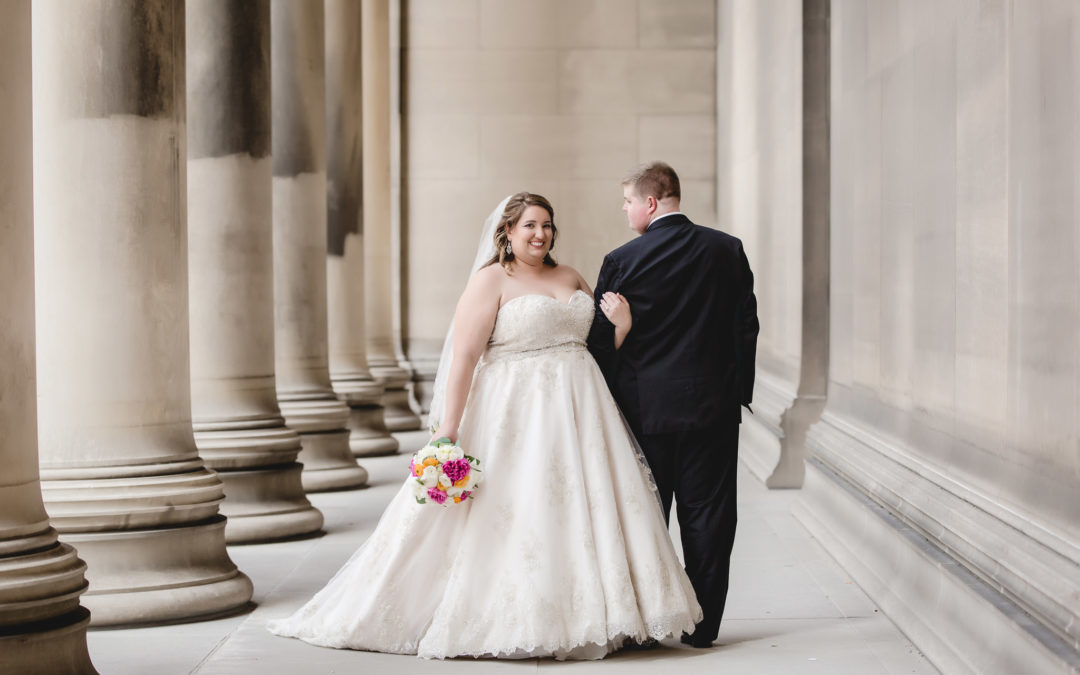 Soldiers & Sailors Memorial Hall Wedding | Kelsey & Jeff