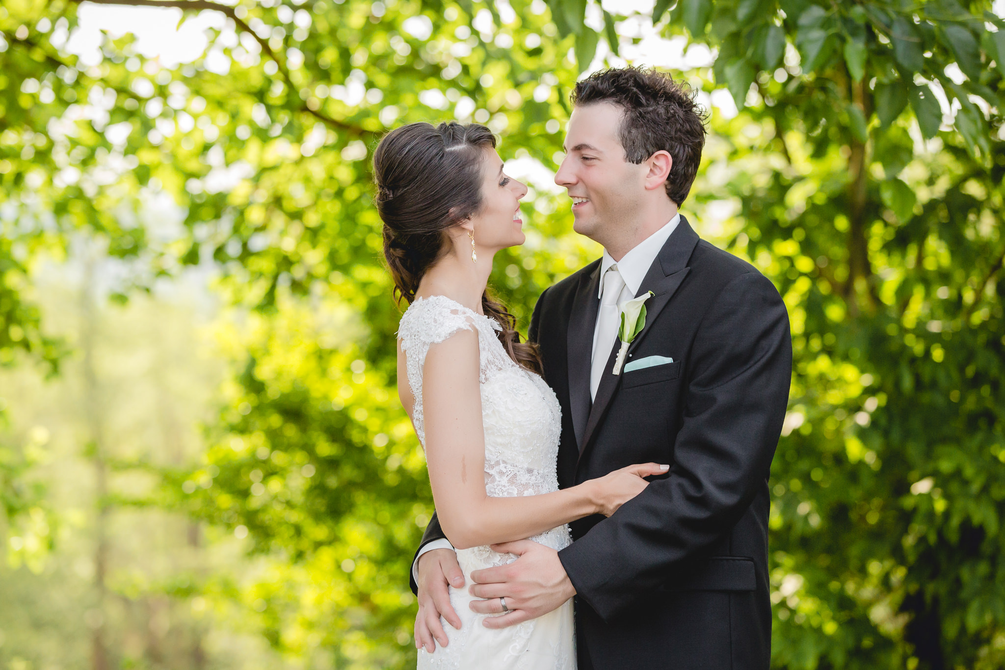 Bride & groom photo session at Greystone Fields