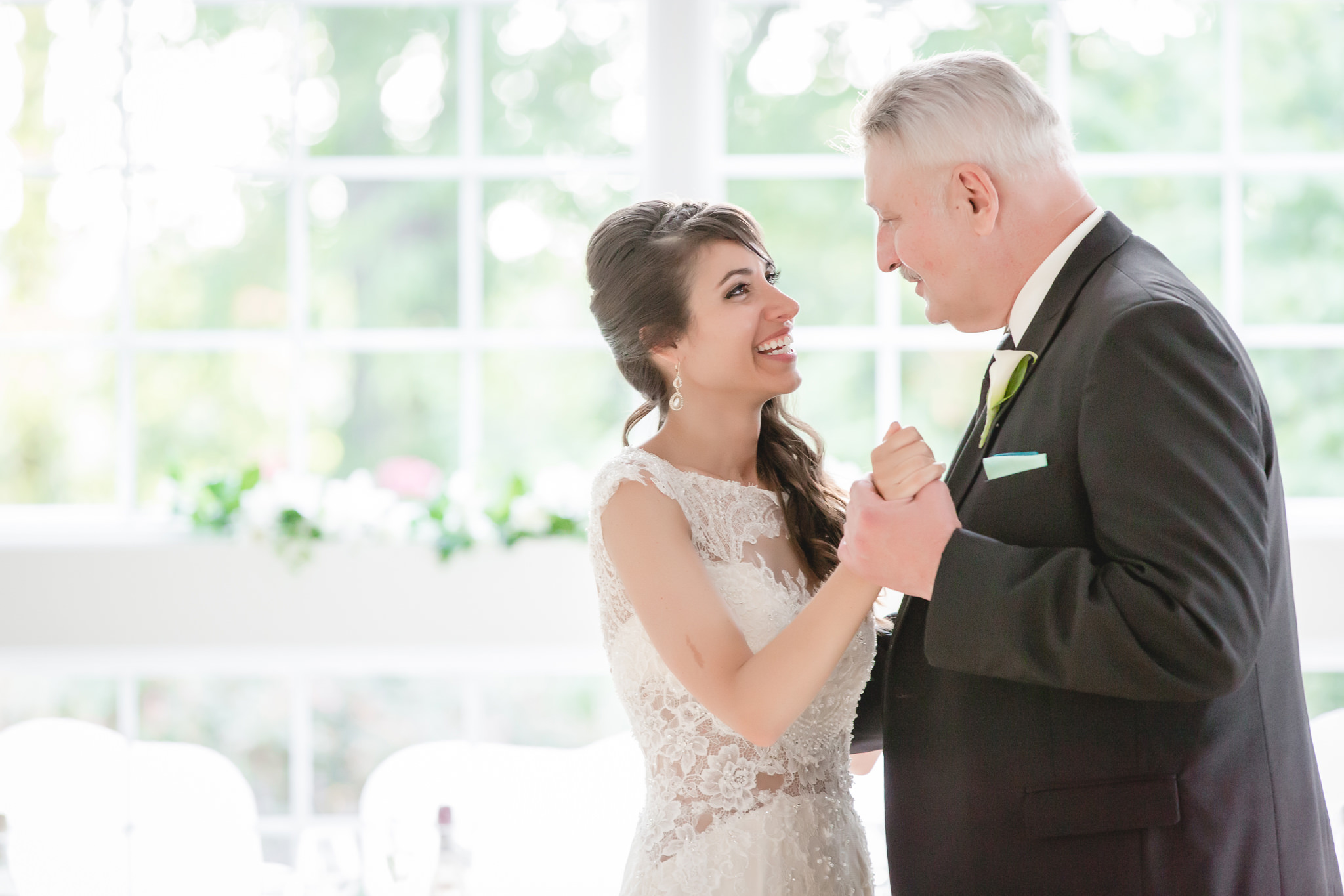 Father-daughter dance at Greystone Fields