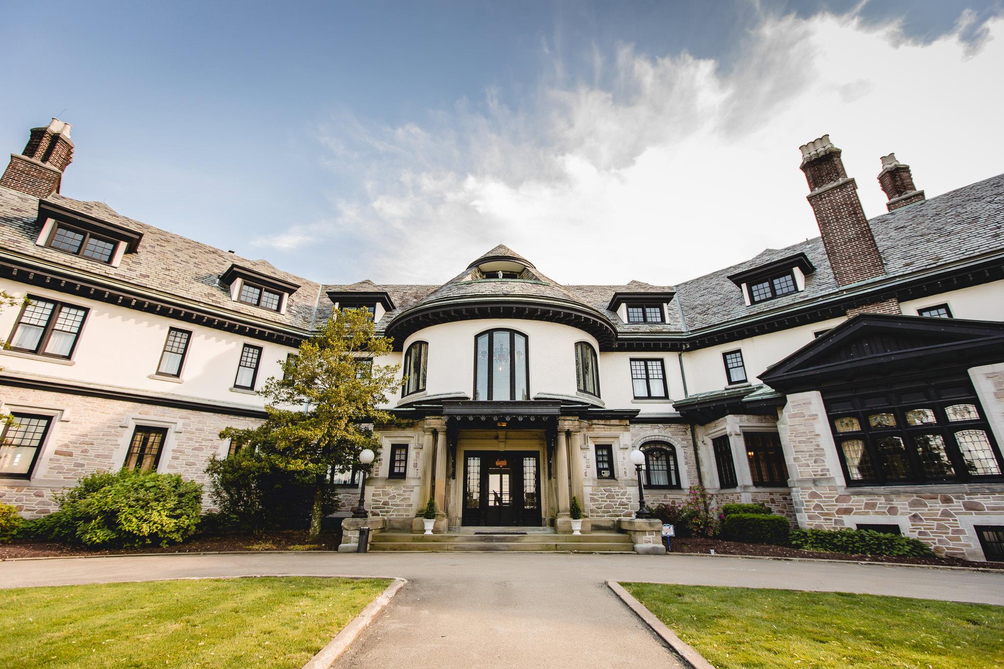 Linden Hall mansion in Dawson, PA