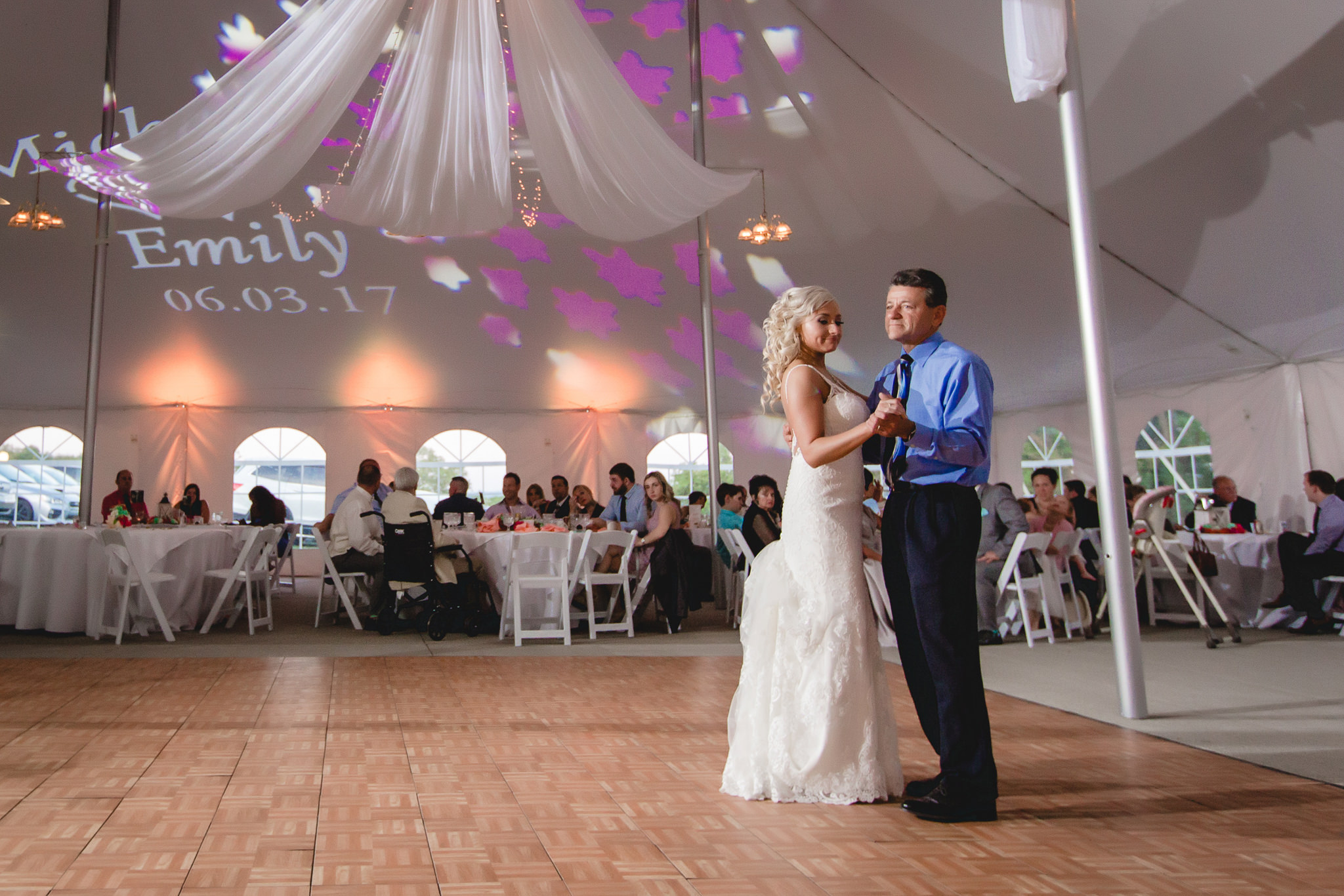 Bride dances with her uncle