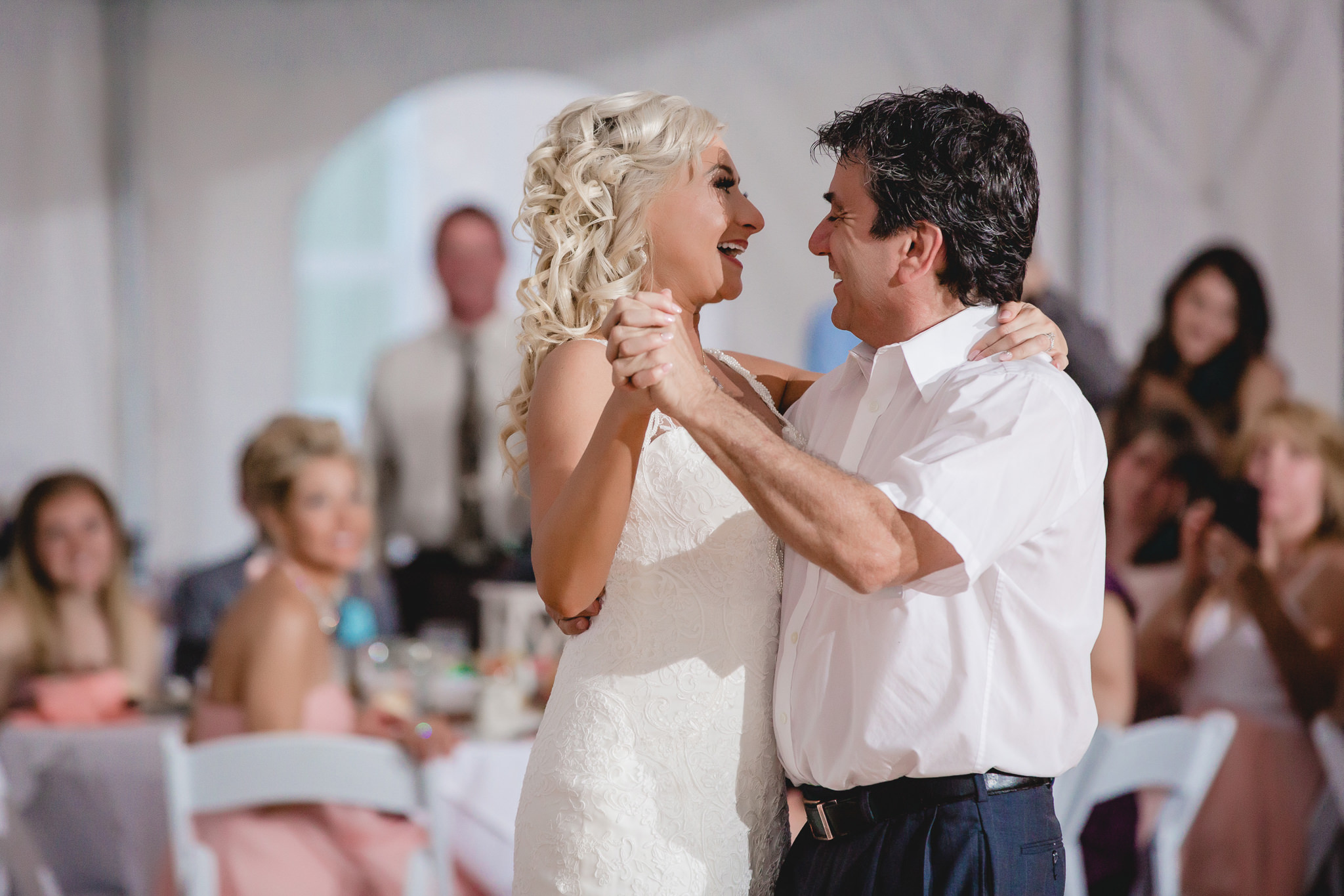 Bride shares a dance with her uncle