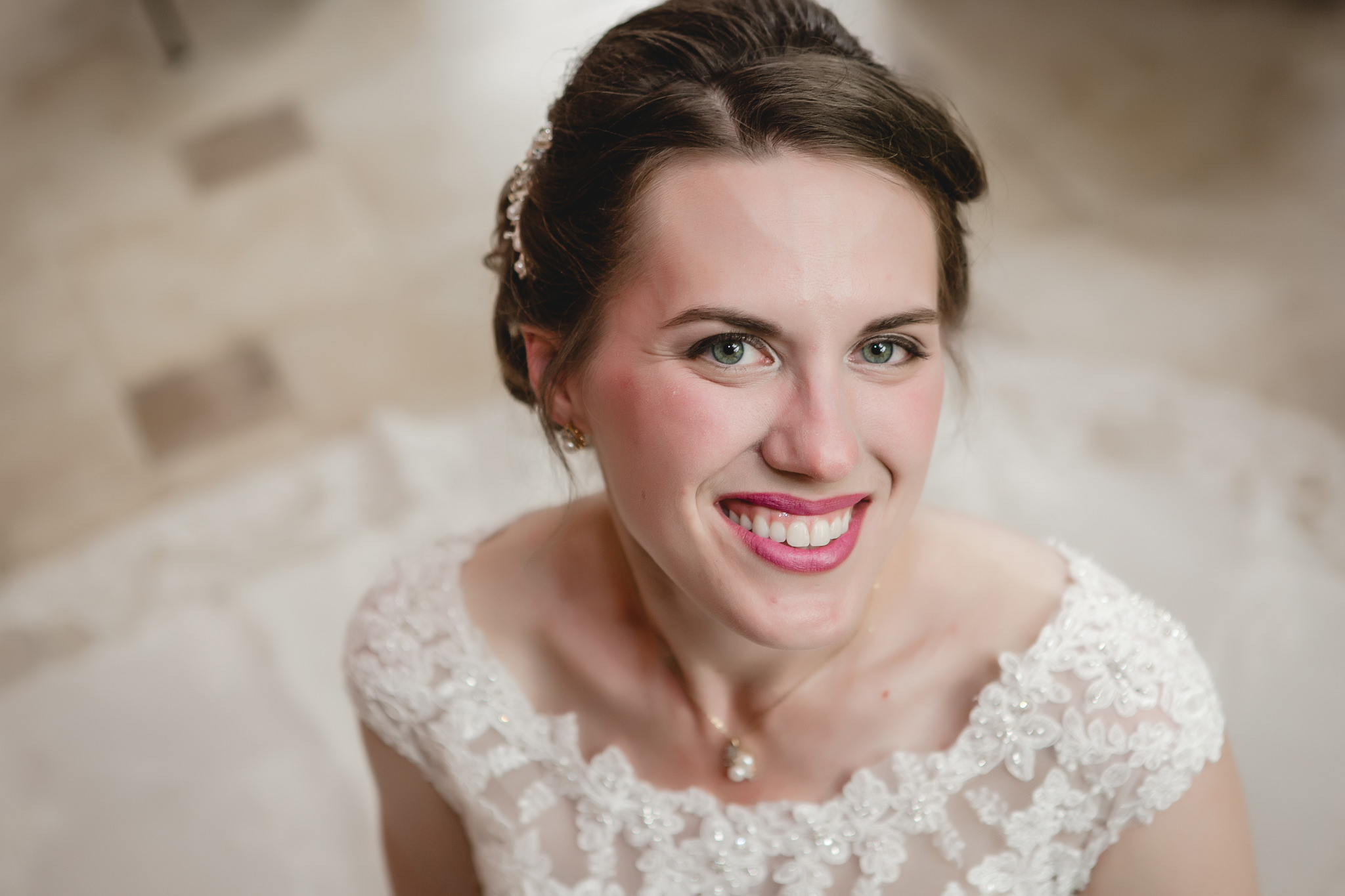 Bridal portrait before Shannopin Country Club wedding in Pittsburgh PA