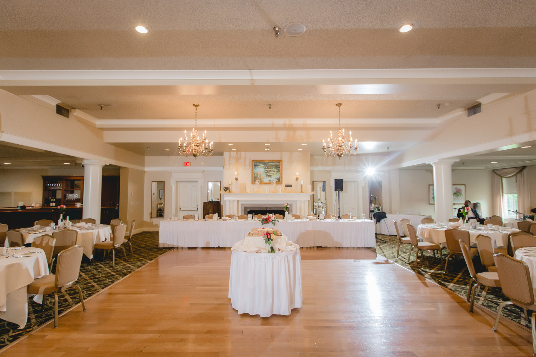 Wedding reception at Shannopin Country Club