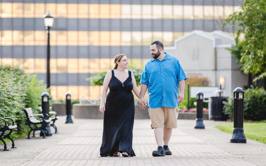 Duquesne University Engagement Session | Lindsay & Mike