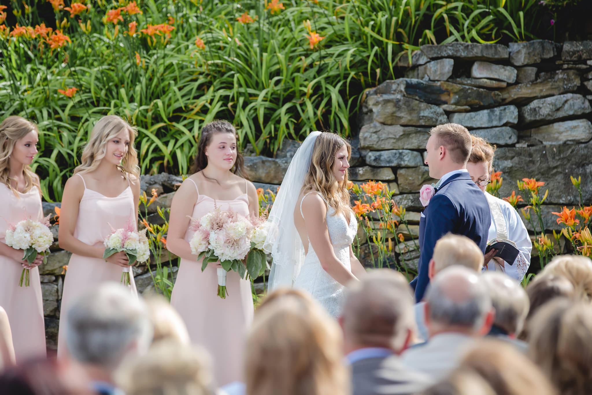 Summer wedding at Hidden Valley Resort