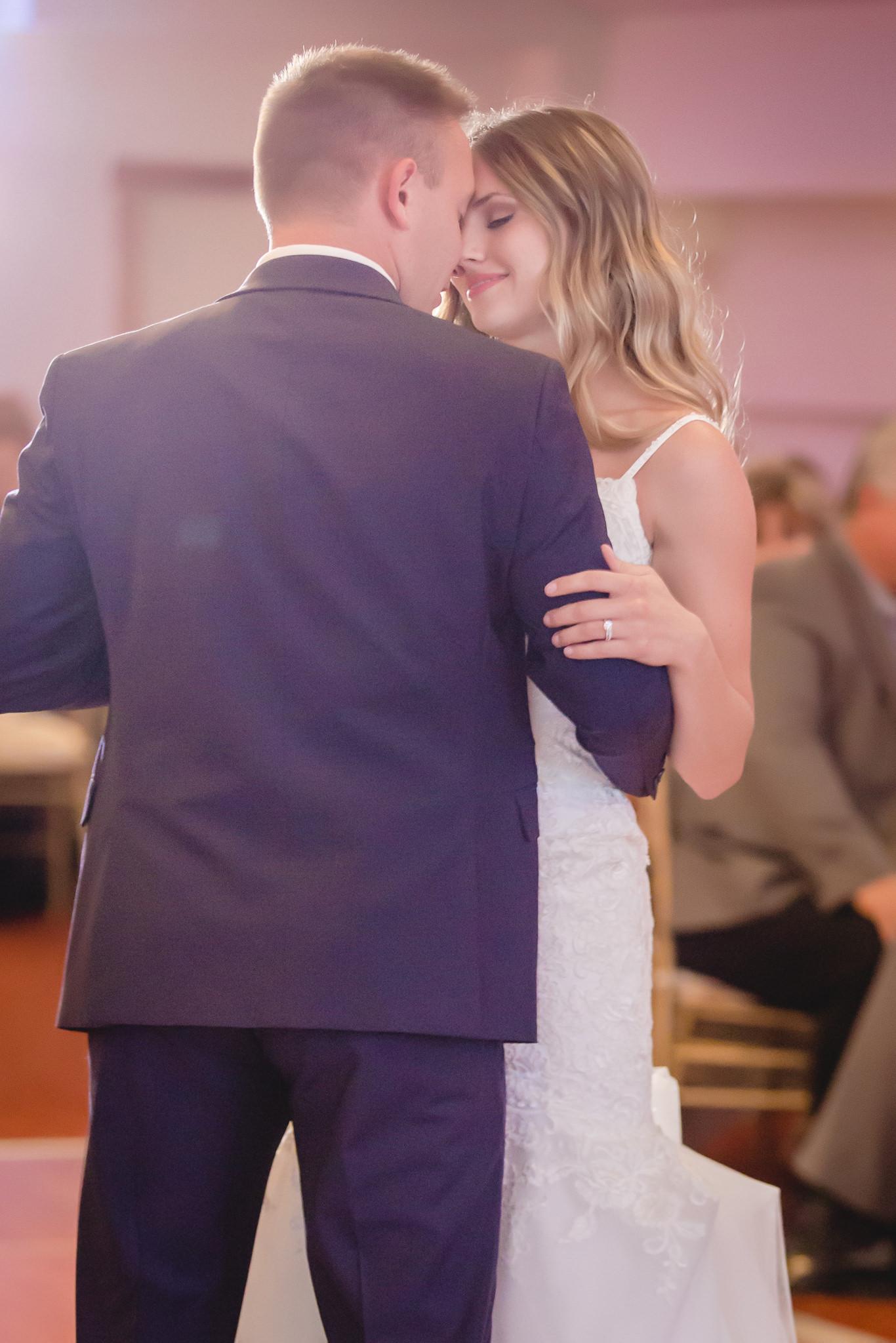 First dance at a Hidden Valley Resort wedding reception