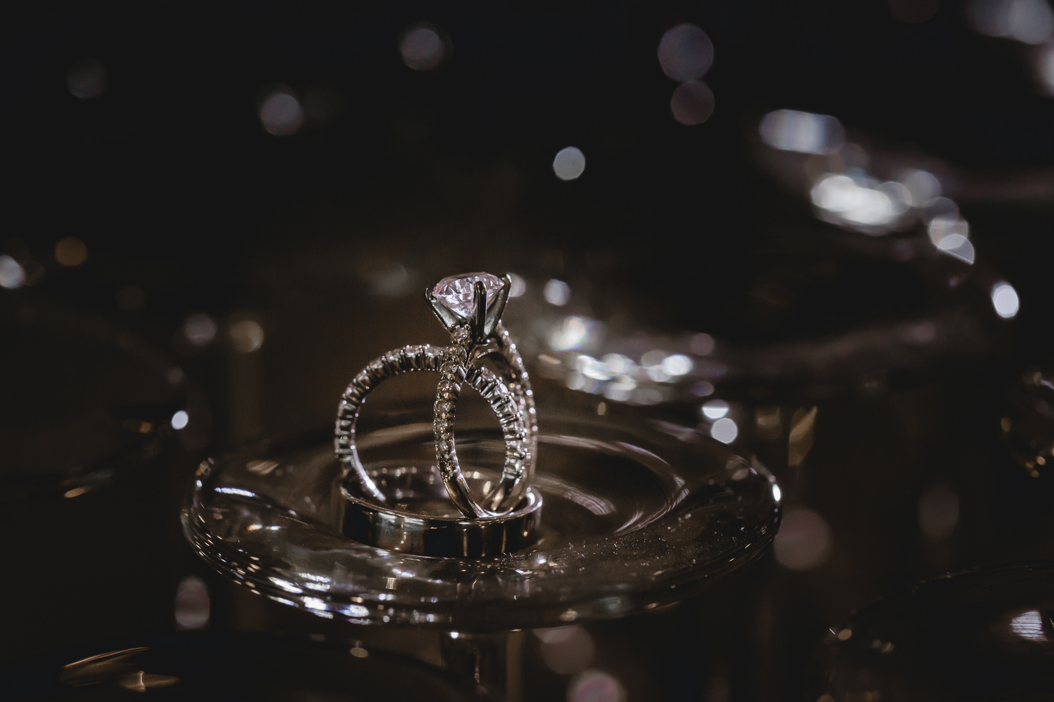 Wedding bands and engagement rings at Hidden Valley Resort