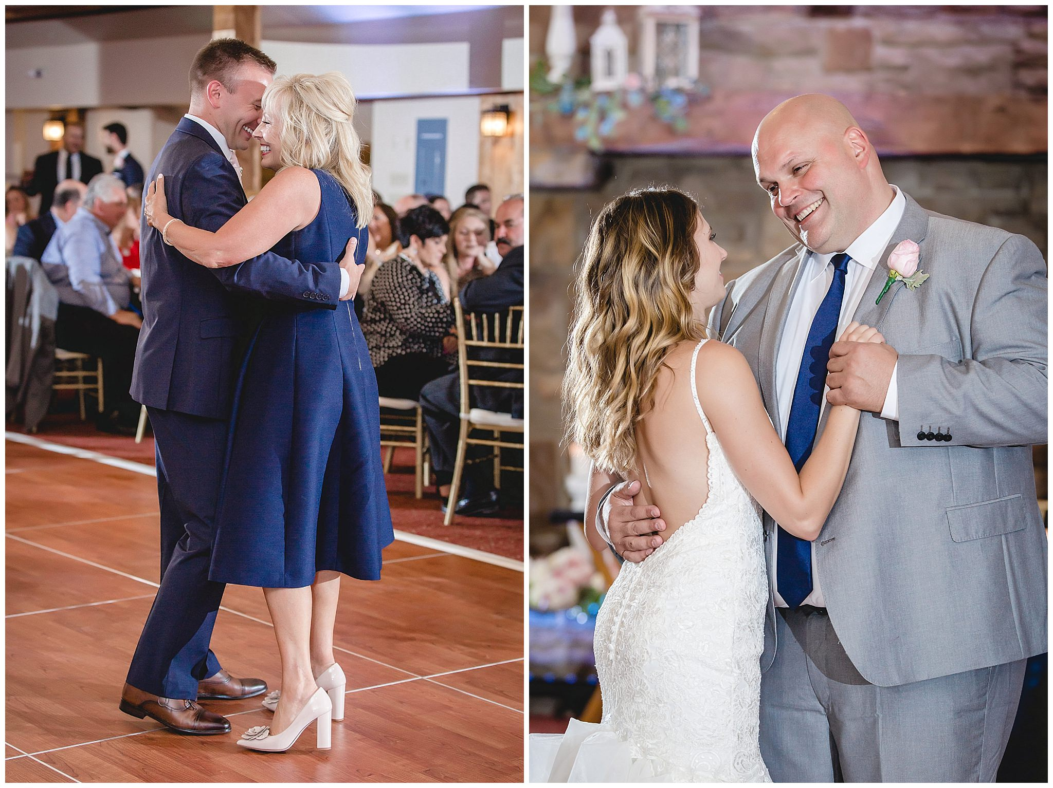 Mother-son and father-daughter dance at Hidden Valley Resort