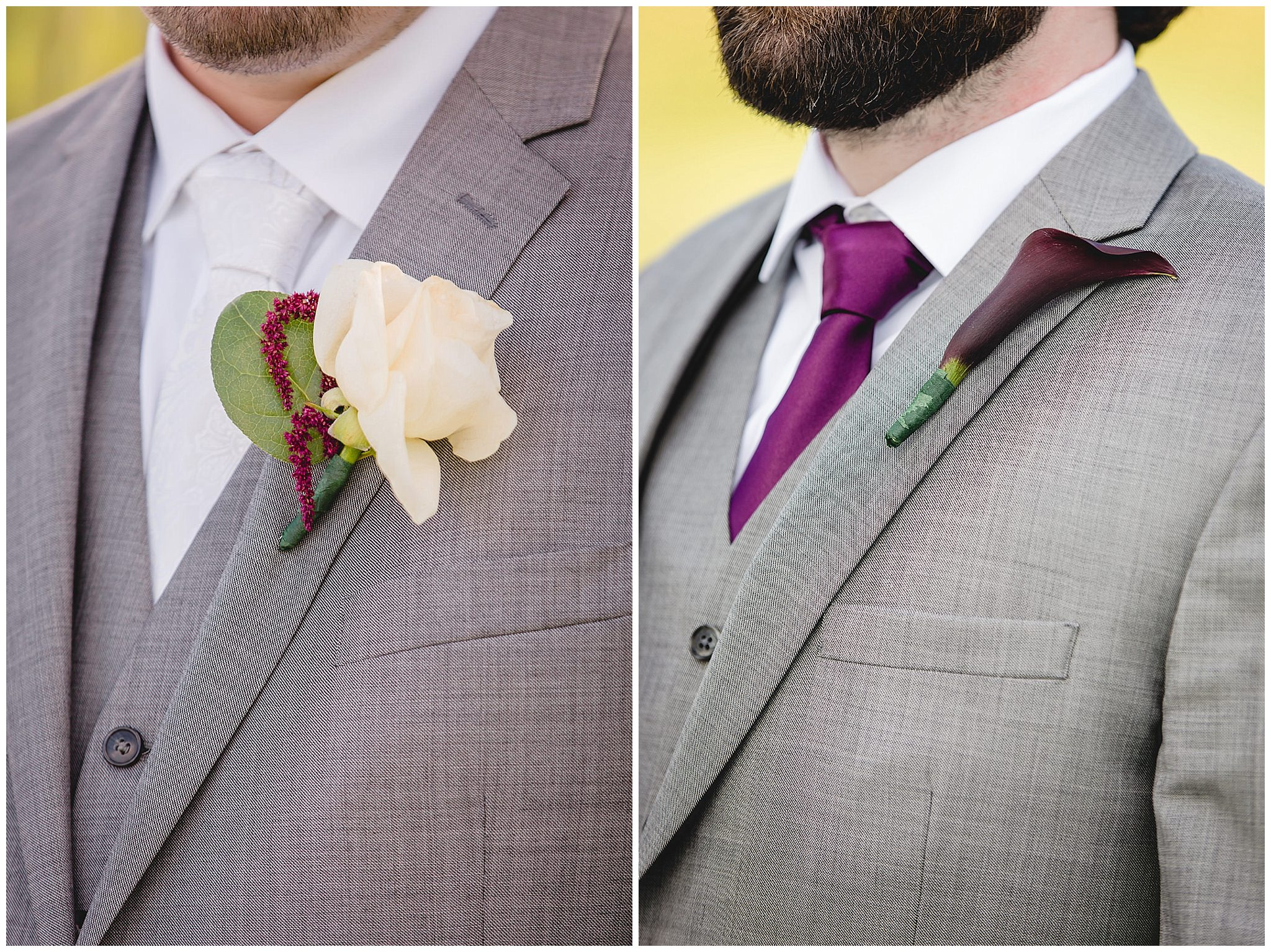 Boutonnieres by Events by Jarrod at White Barn